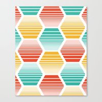 Honey Jive - Summerlicious Canvas Print