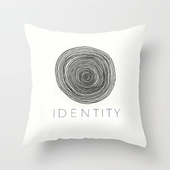 IDENTITY Throw Pillow