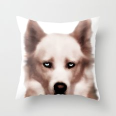 Devil Dog Throw Pillow