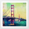The Bridge Art Print