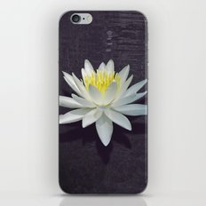 Lily with Purple Ripples iPhone & iPod Skin