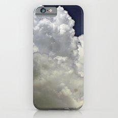 navy cloud iPhone 6 Slim Case