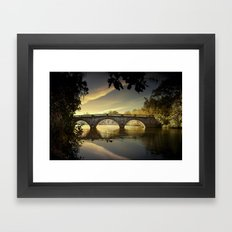 Bridge of Dreams Framed Art Print