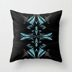 Mint shape Throw Pillow