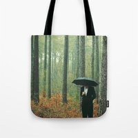 Trees In Suits Tote Bag