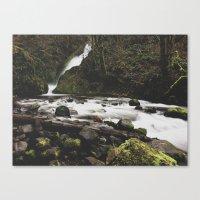 Lower Bridal Falls Canvas Print