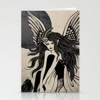 Dark Angel Stationery Cards