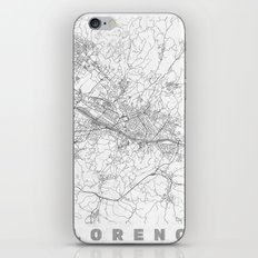 Florence Map Line iPhone & iPod Skin