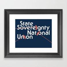 Illinois Framed Art Print