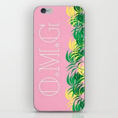 California, O.M.G iPhone & iPod Skin
