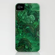 Malachite iPhone (4, 4s) Slim Case