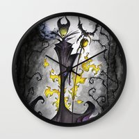Maleficent  Wall Clock
