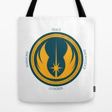 The Jedi Code Tote Bag