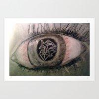 Migraine... Art Print