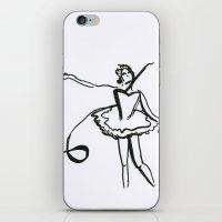 Lily Swan iPhone & iPod Skin