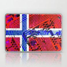 circuit board Norway (Flag) Laptop & iPad Skin