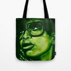 badu?!-green Tote Bag