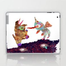 I Don't Believe Using Your Psychic Powers Laptop & iPad Skin
