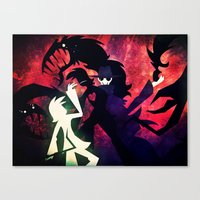 Canvas Print featuring They Betrayed Me Inside by Doc Diventia