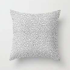 Keys Allover Print Throw Pillow