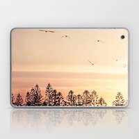 A beautiful day's end Laptop & iPad Skin