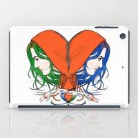 Clementine's Heart iPad Case