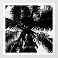 Palm with Sass  Art Print