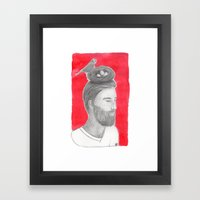 Nest-head Framed Art Print