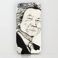 iPhone & iPod Case featuring Mr. Junichiro Koizumi  by RiversAreDeep