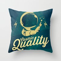 Cosmic Quality Throw Pillow