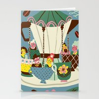 The Coffee Carousel Stationery Cards