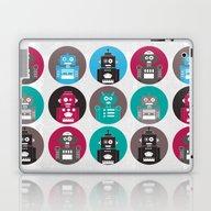 Laptop & iPad Skin featuring Robots by Kakel