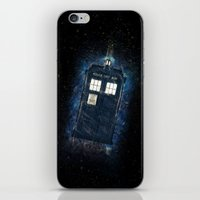 Totally And Radically Driving In Space iPhone & iPod Skin