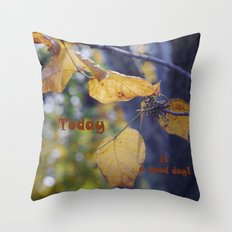 Breathing.... Throw Pillow