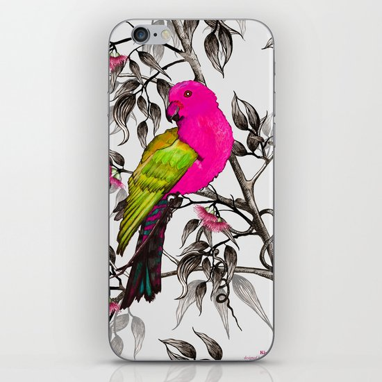 King Parrot iPhone & iPod Skin