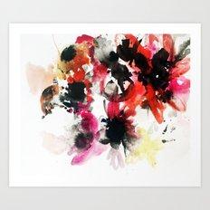 Floral Bunch Art Print