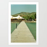 The Pontoon Art Print