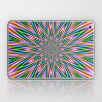 Exploding Star In Pink A… Laptop & iPad Skin
