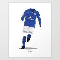 Leicester City 2013/14 - Championship Champions Art Print