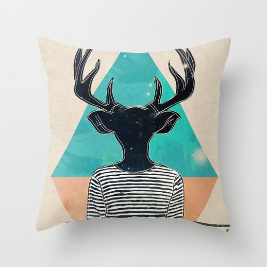 Neck of the Woods Throw Pillow
