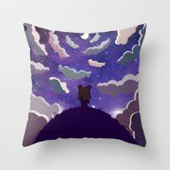 SHANHAIJING-BreadBear-HA… Throw Pillow