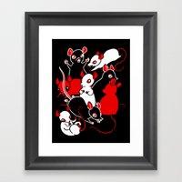 Oh Rats! Framed Art Print