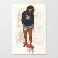 Summer Melt Canvas Print