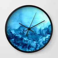 INTO ETERNITY, TURQUOISE… Wall Clock