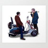 Jimmy Casual Art Print