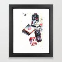 Mark It Zero Framed Art Print