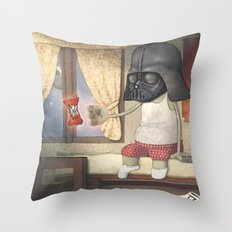 Dart Human Fener Throw Pillow