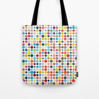 Tangled Up In Colour Tote Bag