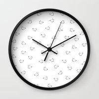 Dead Fox Wall Clock
