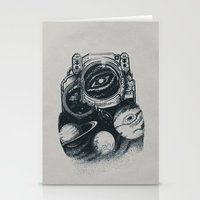 We are all made of stars Mark II Stationery Cards